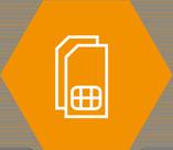 ikona dual sim